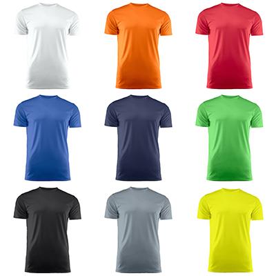 Asiakasarviot: Tekninen T-paita, miehet, sininen
