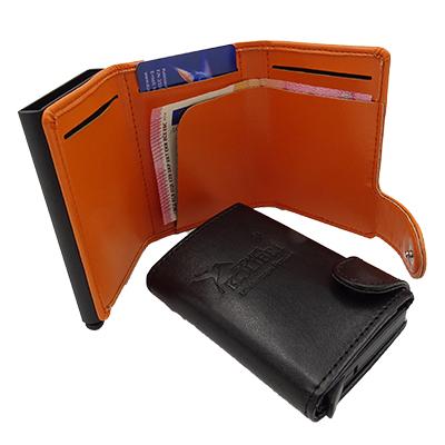 RFID lompakko / luottokorttikotelo omalla logolla